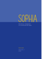 SOPHIA  N. 1 – 2020