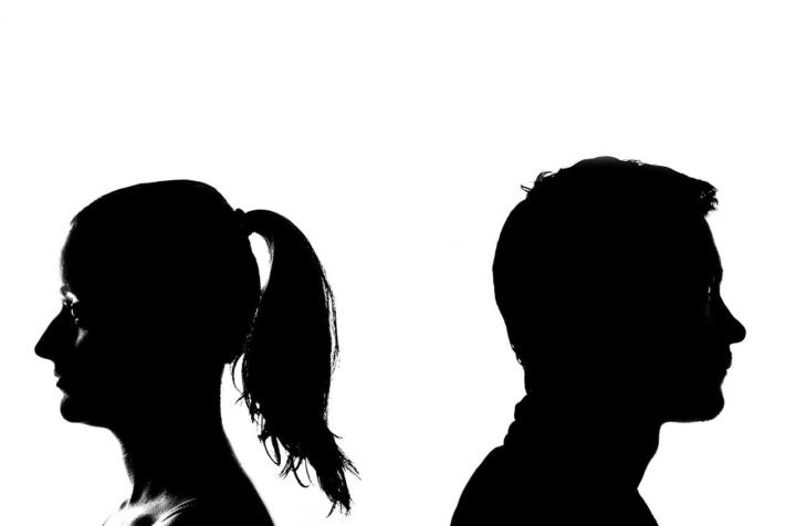 donna e uomo: crisi di coppia