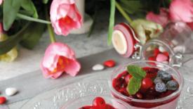 Semifreddo ai frutti rossi