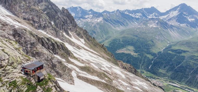 Il rifugio Boccalatte-Spolti in Valle D'Aosta