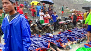 Tragedia in Myanmar, una frana uccide 113 persone