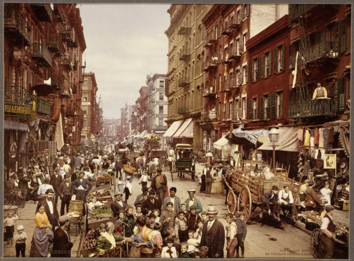 Migranti italiani, foto primo Novecento
