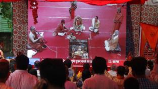 La ricostruzione del (contestato) Tempio di Ram