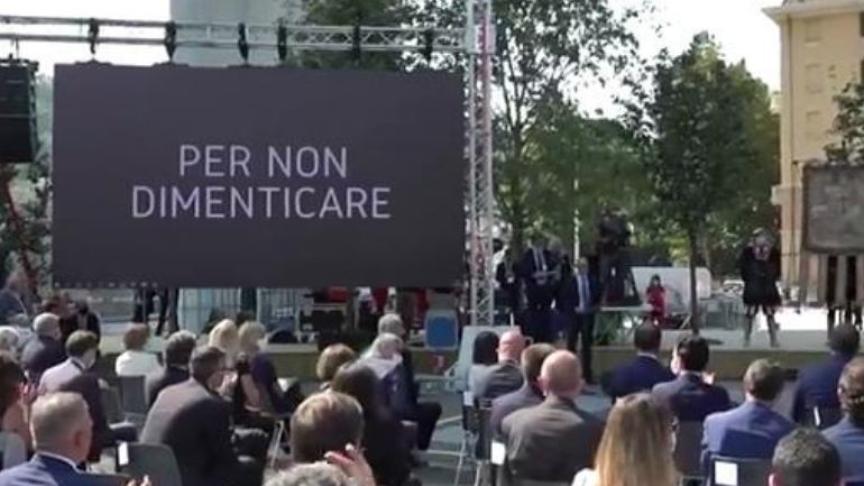 Genova ricorda le vittime del ponte Morandi due anni dopo