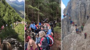 Montagna, si registra il boom di turisti