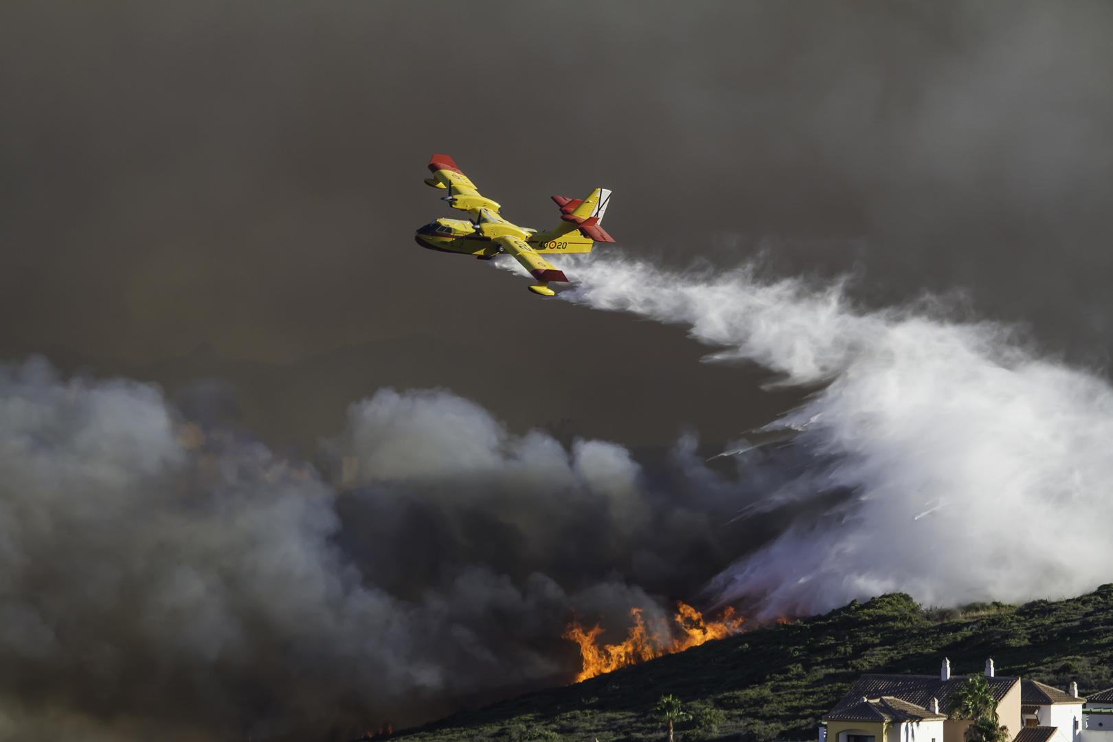 resceu aerei europei contro gli incendi