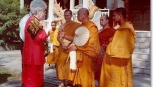 Chiara Lubich e i monaci buddhisti