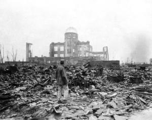 1945 Hiroshima, AP Photo/Stanley Troutman, Pool, File)