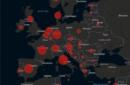 Europa: Covid-19, mappe e numeri