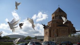 Nagorno-Karabakh, quella cattedrale sventrata