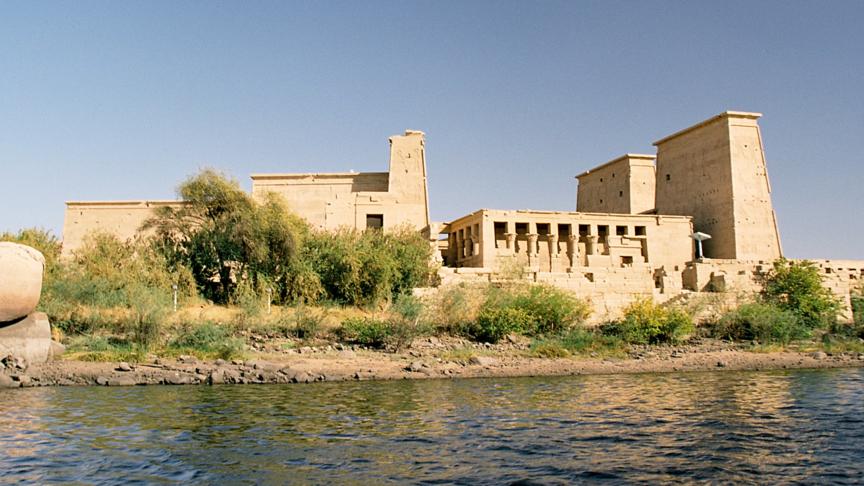 I templi di File salvati dalle acque