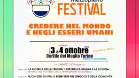 """Mezzopieno Festival: """"Credere nel mondo e negli essere umani"""""""