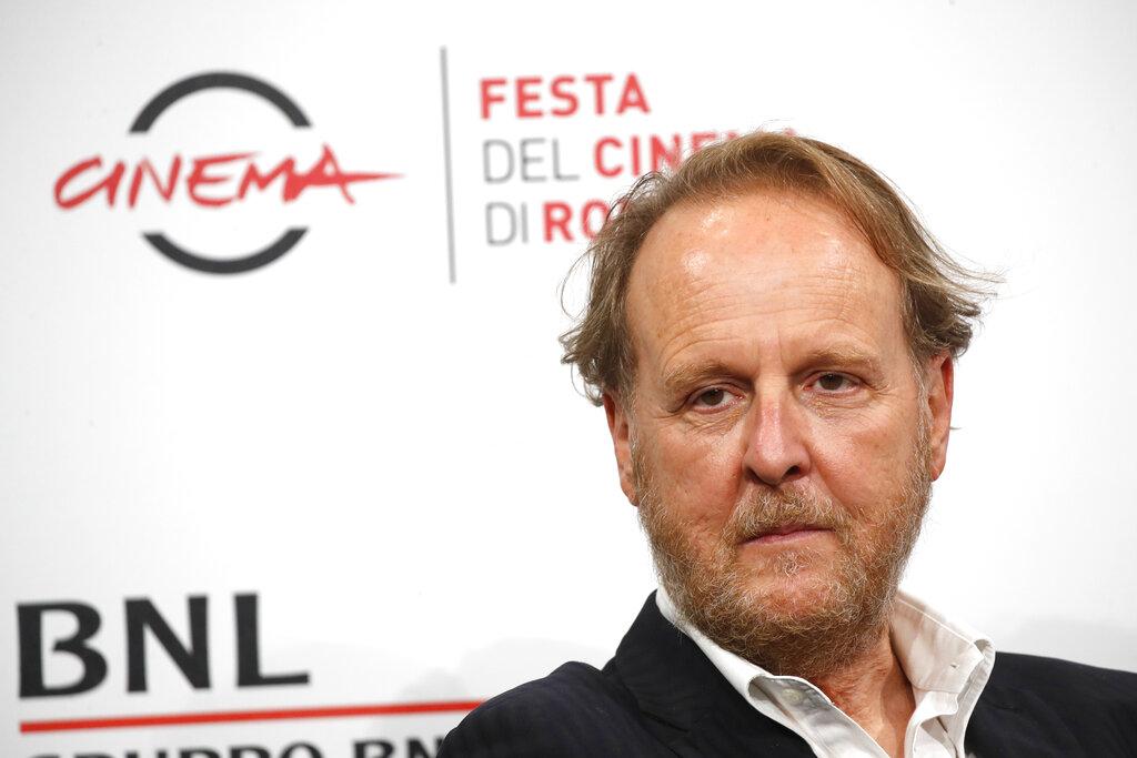Il regista Francesco Bruni al Festival del cinema di Roma (AP Photo/Alessandra Tarantino)