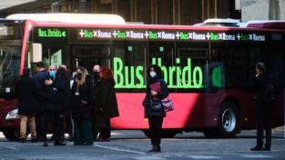 Roma, nuovi bus ecologici