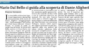«A riveder le stelle» di Mario Dal Bello su «La Sicilia»