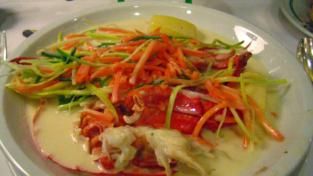 Il waterzooï, la zuppa fiamminga di pesce