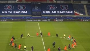 No al razzismo in Champions League