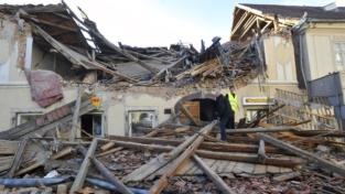 Terremoto in Croazia, devastata la città di Petrinja
