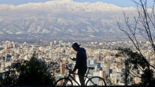 Santiago del Cile: nutrire la comunità in bici