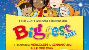 Bambini, il 6 gennaio si gioca con la Big Fest 2021
