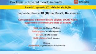 """La pandemia e le 3B (Biden, Brexit, Bolsonaro)"""