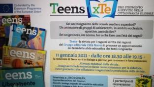 Ragazzi e adulti: crescere insieme con Teens