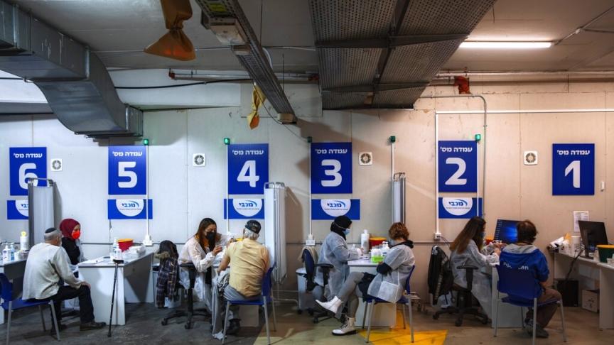 Israele: record di contagi e vaccinazioni