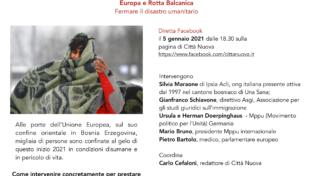 Europa e rotta balcanica, fermare il disastro umanitario