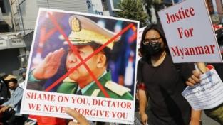 Myanmar, terzo giorno di proteste per il golpe
