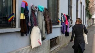 Milano: il muro della gentilezza