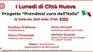 """Un progetto per """"Prendersi cura dell'Italia"""""""