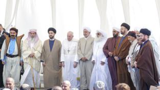 Francesco e i leader religiosi, sotto la stessa tenda