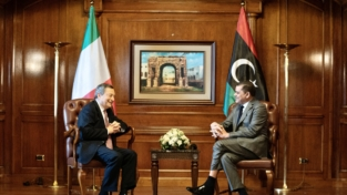 Draghi, la Libia e i migranti