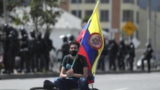 Bogotà, manifestazione contro le tasse