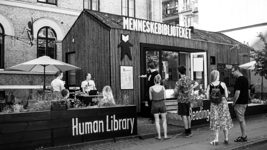 The human library, una biblioteca vivente