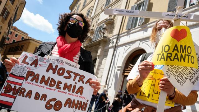 Economia da disarmare, il caso ex Ilva di Taranto