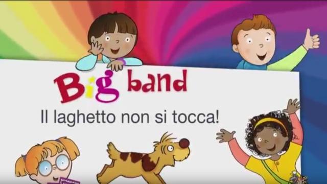 Guarda il secondo cartone della Big band: Il laghetto non si tocca