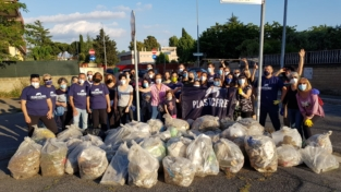 Ciampino e Morena, volontari per l'ambiente