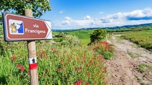 "Al via la staffetta europea ""Via Francigena. Road to Rome 2021. Start again"""