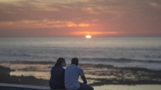 La prospettiva dell'estate per la coppia