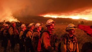 Incendi in California, estate brutale