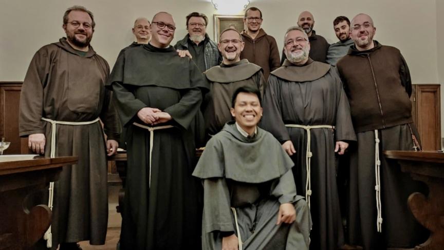 """La nuova luce della """"Fraternità Interobbedienziale"""" alla Chiesa Nuova di Assisi"""