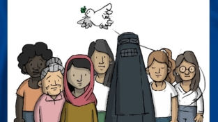 """Manifestazione in piazza, """"Le donne afghane esistono"""""""