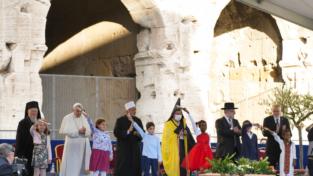 Incontro interreligioso per la pace a Roma