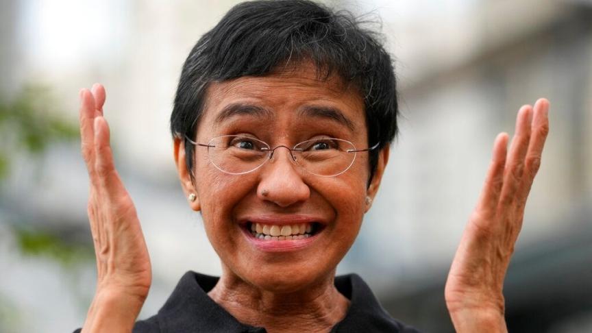 Chi è Maria Ressa, premio Nobel per la Pace 2021