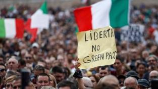 15 ottobre, scatta la protesta contro l'obbligo di green pass sui luoghi di lavoro